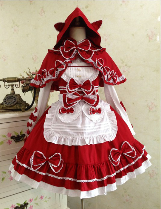 Little Red Riding Hood Costume For Cosplay